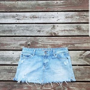 ABERCROMBIE & FITCH JEAN SKIRT 8